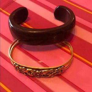 Two Cuff Bracelets